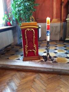 Die Kerze Symbol für Christus